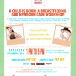 First Time Parents – A Child is Born: A Breastfeeding and Newborn Care Workshop