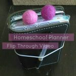 Planner Flip Through: Homeschool Planner in a FoxyFix Travelers Notebook