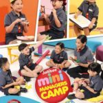 Summer Fun at the Jollibee Kids Club Mini Managers Camp!